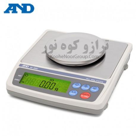 ترازو EK 200i-دقت 0.01گرم وظرفیت 200گرم
