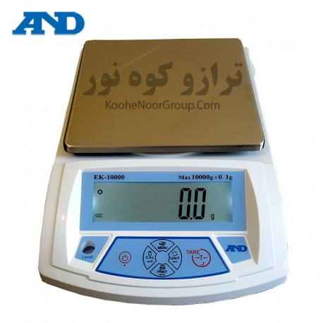 ترازو EK10000-دقت 0.1گرم و ظرفیت 10کیلوگرم