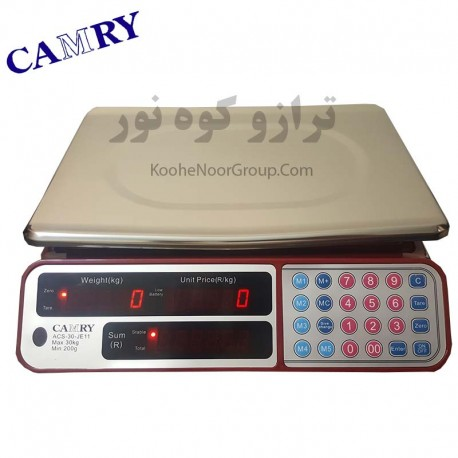 ترازوی CAMRY دقت 1 گرم و ظرفیت 30 کیلوگرم