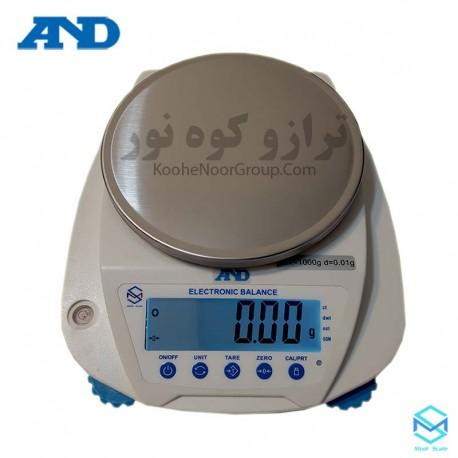 ترازو ET1000A -دقت 0.01گرم و ظرفیت 1000 گرم