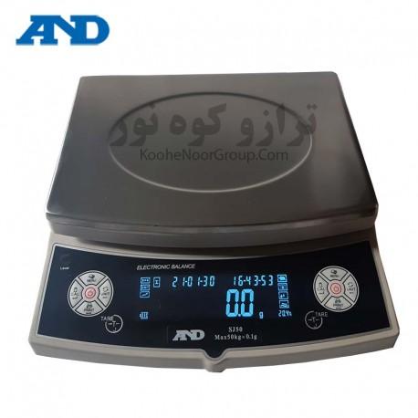 ترازو SJ 50-دقت 0.1گرم و ظرفیت 30کیلوگرم