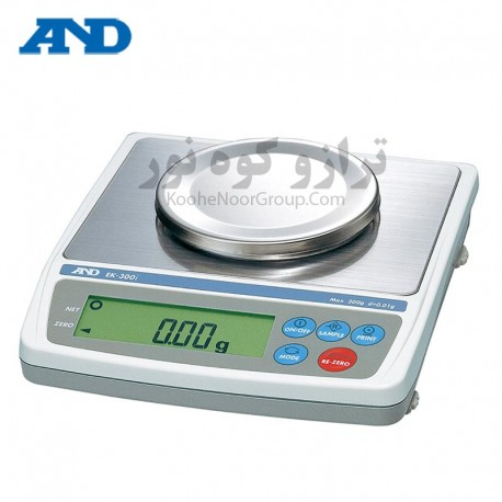 ترازو EK 300i-دقت 0.01گرم و ظرفیت 300گرم