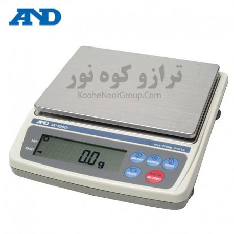 ترازو EK 2000i-دقت 0.1گرم و ظرفیت 2000گرم