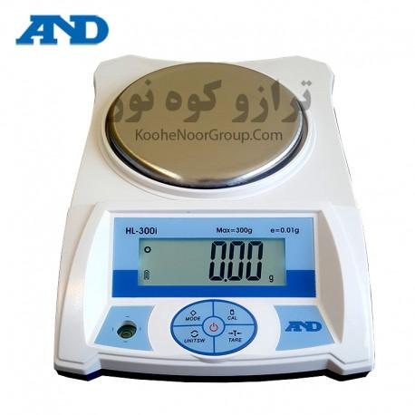 ترازو HL300 -دقت 0.01گرم و ظرفیت 300 گرم